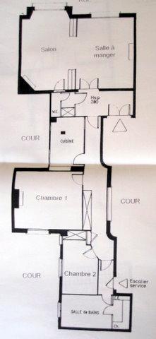 La qualit d 39 un appartement repose en grande partie sur son plan d nicher - Plan de salle d eau ...