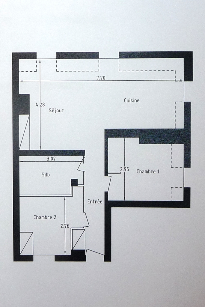 Plan appartement optimise for Plan appartement
